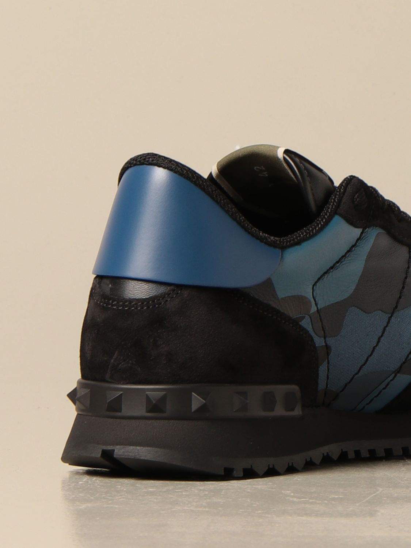 Sneakers Valentino Garavani: Sneakers Rock Runner Valentino Garavani camouflage royal 3