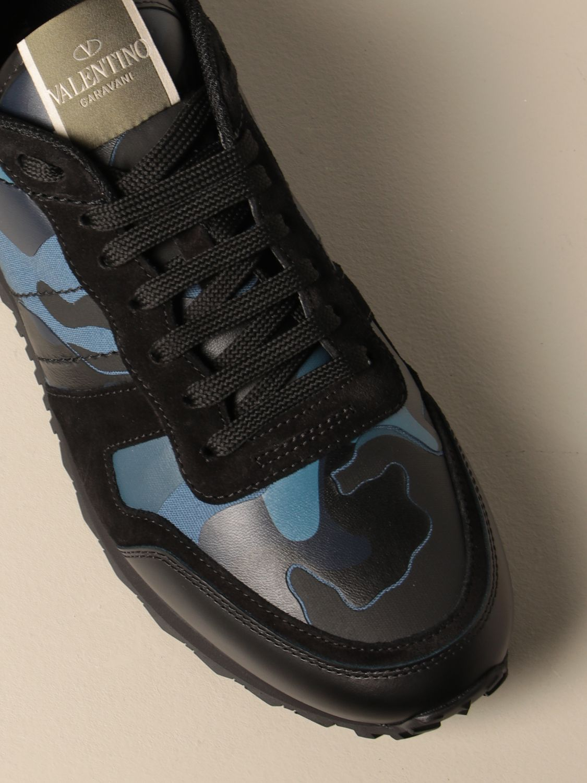 Sneakers Valentino Garavani: Sneakers Rock Runner Valentino Garavani camouflage royal 4
