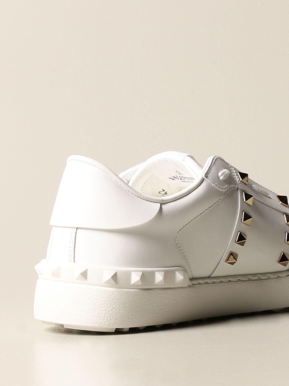 Trainers Valentino Garavani: Valentino Garavani Rockstud Untitled trainers in leather with studs white 3