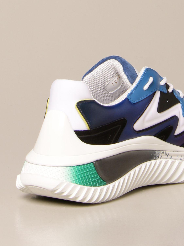 Sneakers Valentino Garavani: Sneakers Wade Runner Valentino Garavani in neoprene e tessuto bianco 3