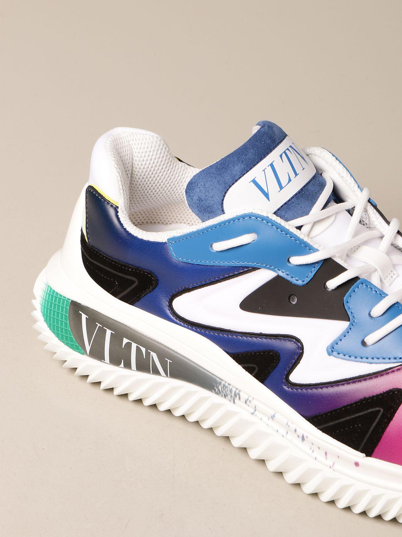 Sneakers Valentino Garavani: Sneakers Wade Runner Valentino Garavani in neoprene e tessuto bianco 4