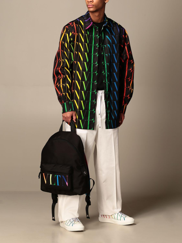 Trousers Valentino: Valentino cotton jogging trousers white 2