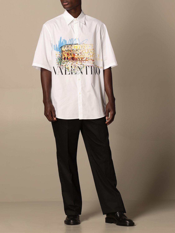 Pantalone Valentino: Pantalone jogging Valentino in cotone nero 2