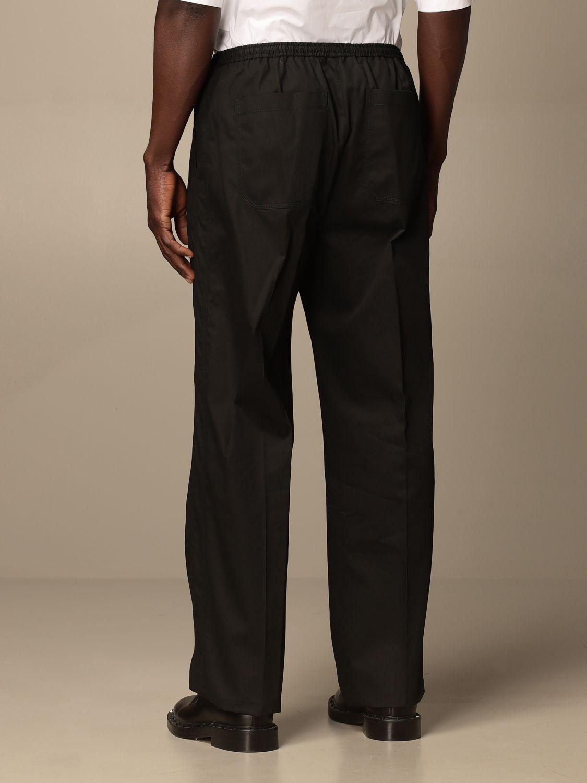Pantalone Valentino: Pantalone jogging Valentino in cotone nero 3