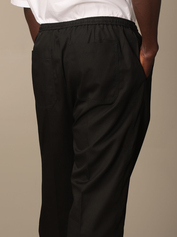 Pantalone Valentino: Pantalone jogging Valentino in cotone nero 5