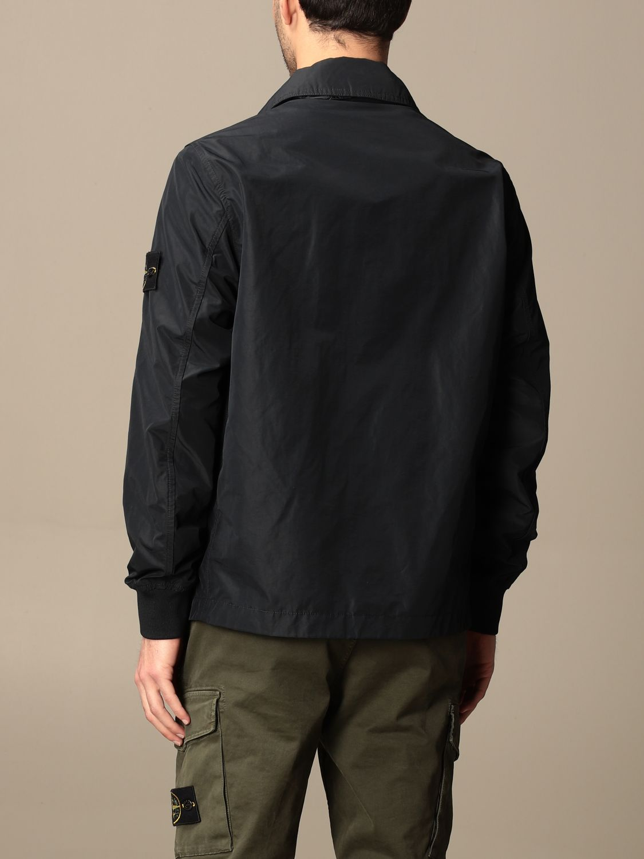 Jacket Stone Island: Stone Island jacket in opaque nylon polyester rep navy 2