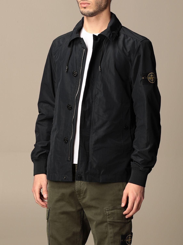 Jacket Stone Island: Stone Island jacket in opaque nylon polyester rep navy 3