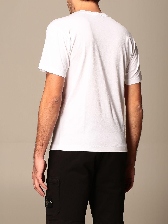 T-shirt Stone Island: Stone Island t-shirt in basic cotton white 3