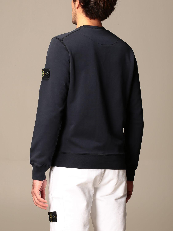 Sweatshirt Stone Island: Stone Island crewneck sweatshirt in cotton navy 2