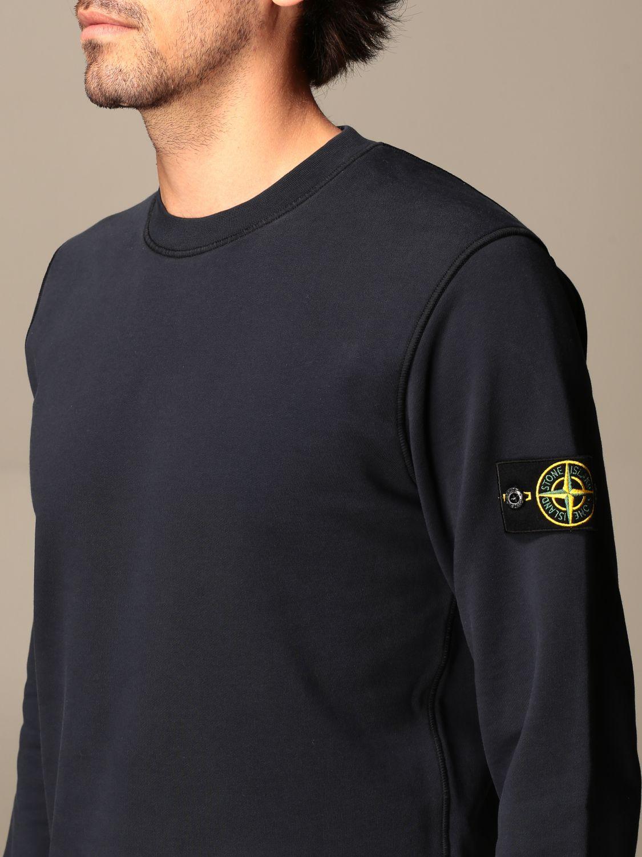 Sweatshirt Stone Island: Stone Island crewneck sweatshirt in cotton navy 3