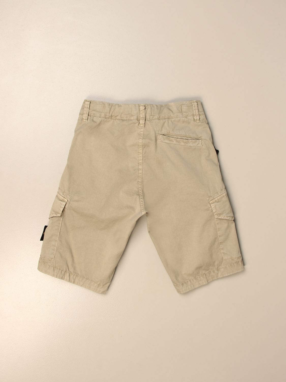 Pantaloncino Stone Island Junior: Bermuda Kargo Stone Island Junior in cotone beige 2