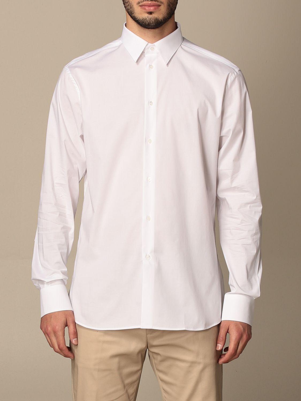 Shirt Paolo Pecora: Paolo Pecora shirt in poplin white 1