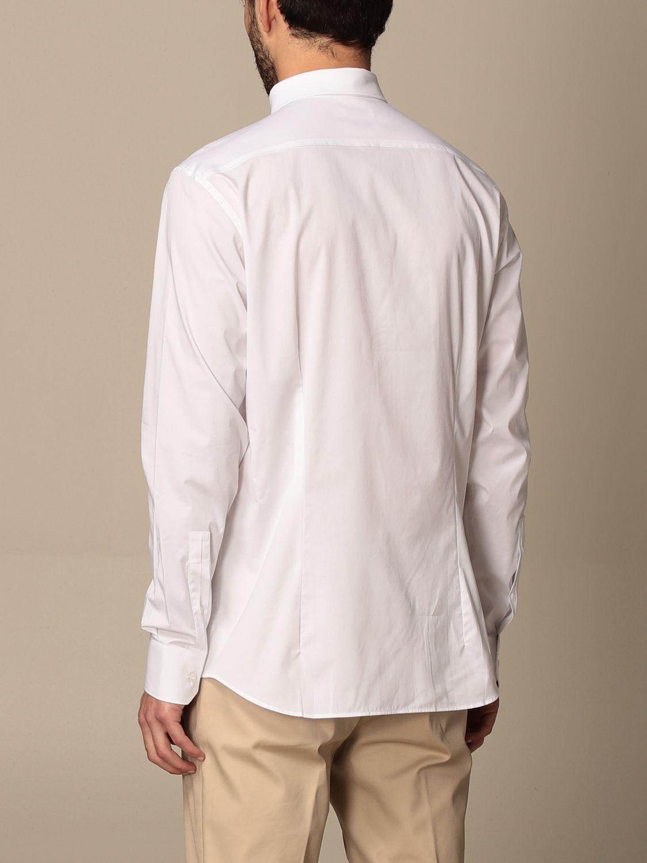 Shirt Paolo Pecora: Paolo Pecora shirt in poplin white 2