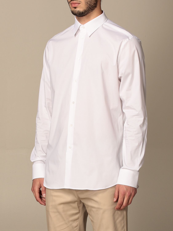 Shirt Paolo Pecora: Paolo Pecora shirt in poplin white 3