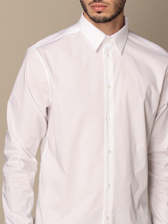 Shirt Paolo Pecora: Paolo Pecora shirt in poplin white 4
