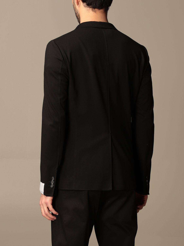 Блейзер Paolo Pecora: Блейзер Мужское Paolo Pecora черный 3