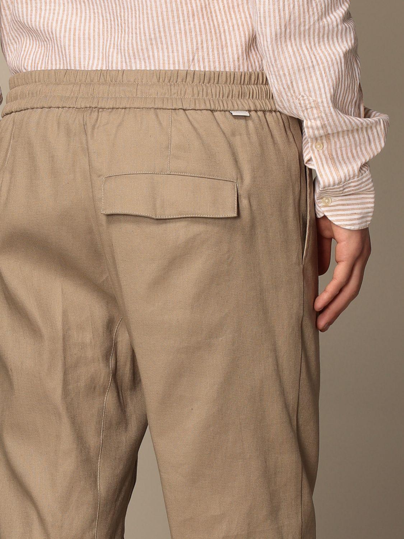 Pantalones cortos Paolo Pecora: Pantalones cortos hombre Paolo Pecora beige 5