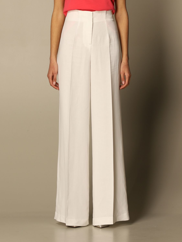 Pantalón Twin Set: Pantalón mujer Twin Set blanco 1