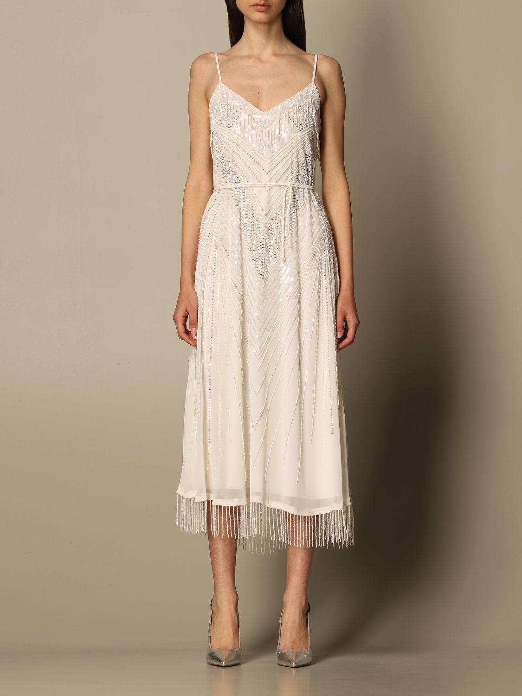 Vestido Twin Set: Vestido mujer Twin Set blanco 1