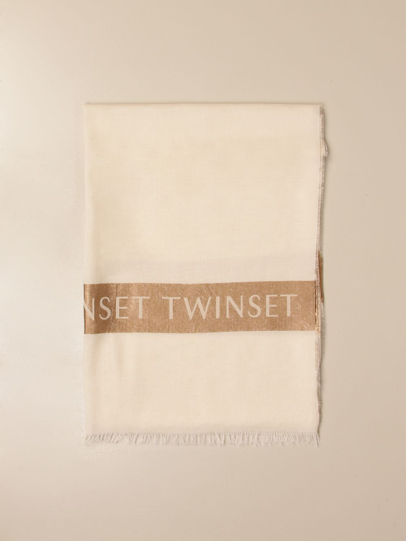 Seidentuch Twin Set: Seidentuch damen Twin Set beige 1