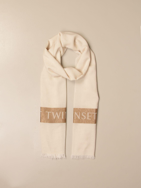 Seidentuch Twin Set: Seidentuch damen Twin Set beige 2