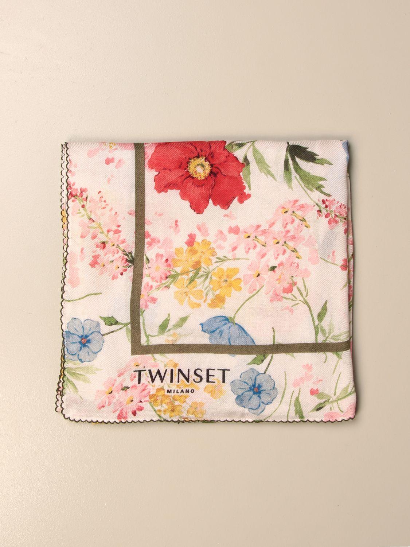 Seidentuch Twin Set: Seidentuch damen Twin Set weiß 1
