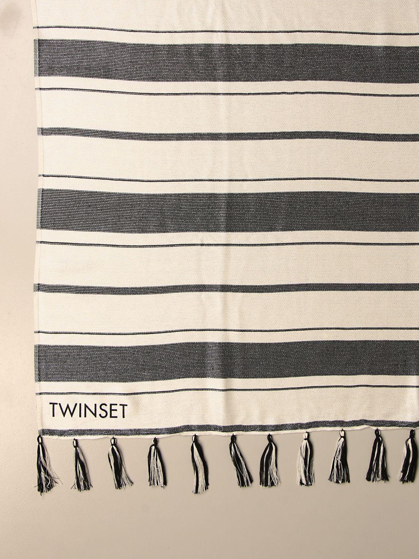 Seidentuch Twin Set: Seidentuch damen Twin Set weiß 3