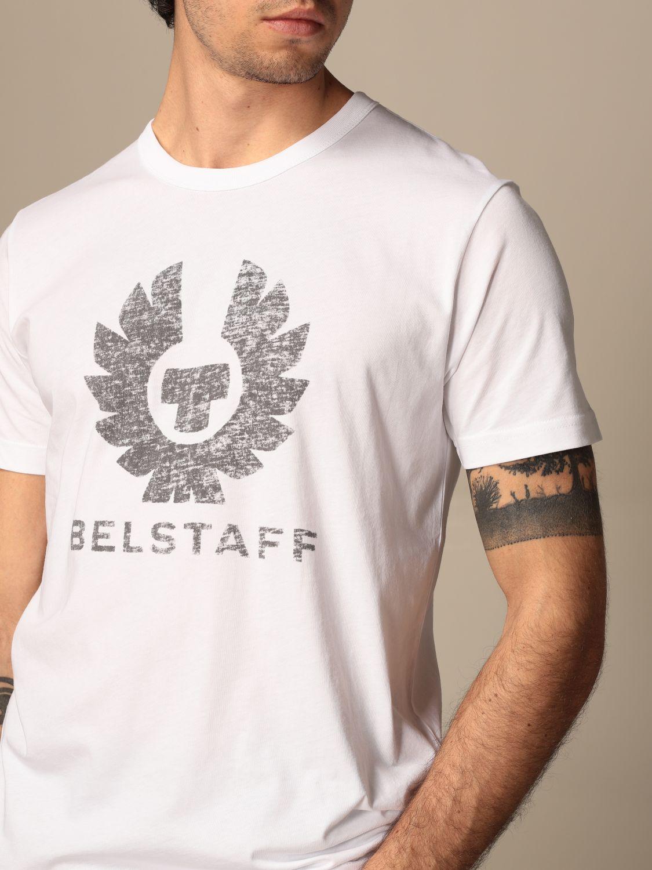 T-shirt Belstaff: T-shirt men Belstaff white 3