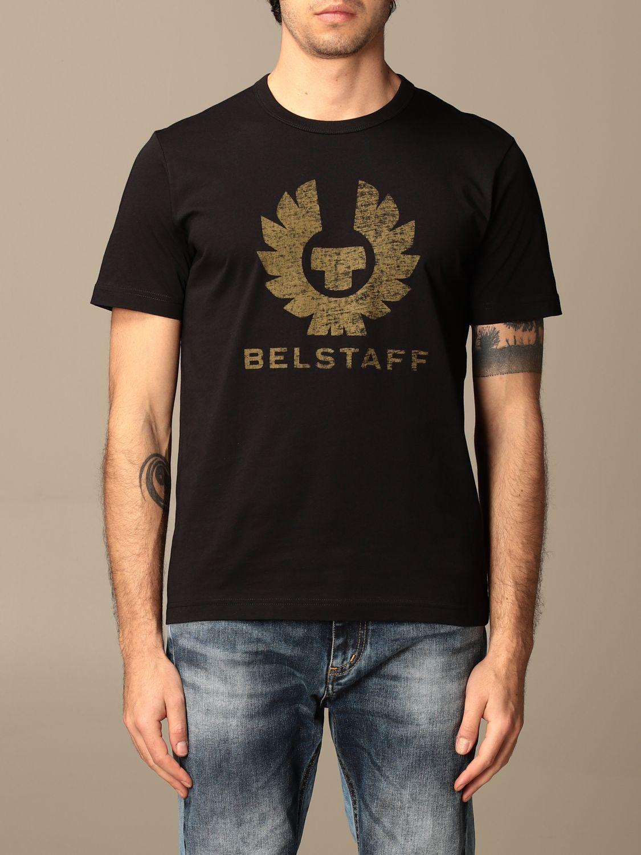 T-shirt Belstaff: T-shirt homme Belstaff noir 1