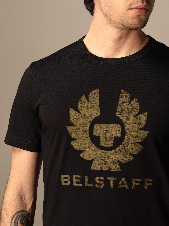 T-shirt Belstaff: T-shirt homme Belstaff noir 3