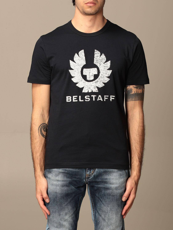 Camiseta Belstaff: Camiseta hombre Belstaff azul marino 1