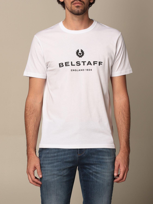 T-shirt Belstaff: T-shirt men Belstaff white 1