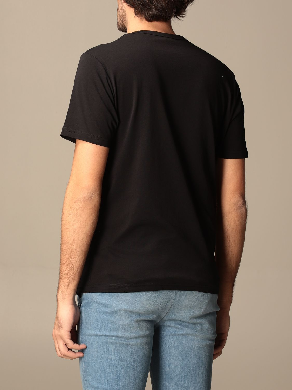T-shirt Belstaff: T-shirt Belstaff in cotone con stampa logo nero 2