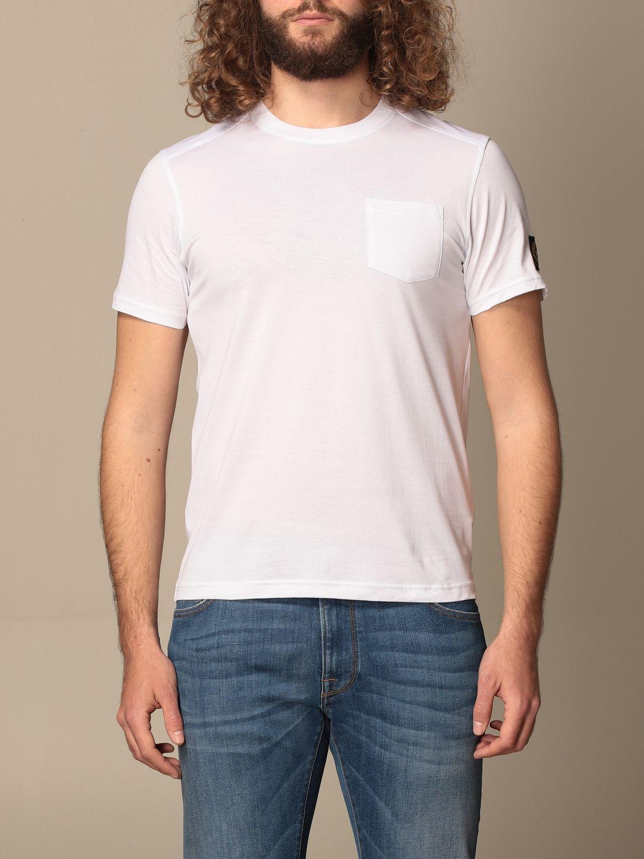 Camiseta Belstaff: Camiseta hombre Belstaff blanco 1