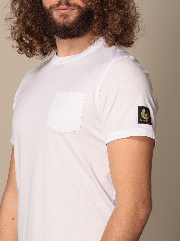 Camiseta Belstaff: Camiseta hombre Belstaff blanco 3