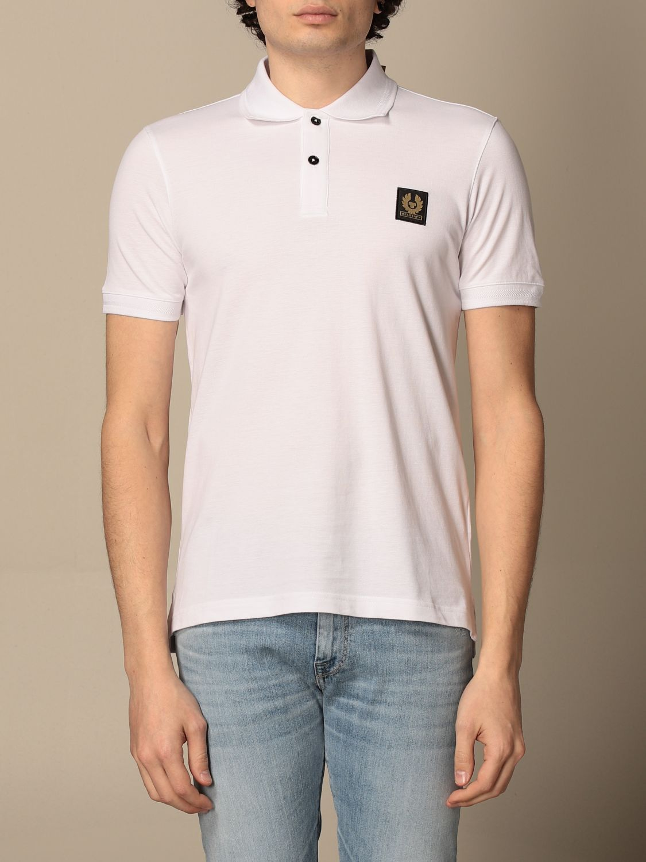 Polo shirt Belstaff: Polo shirt men Belstaff white 1