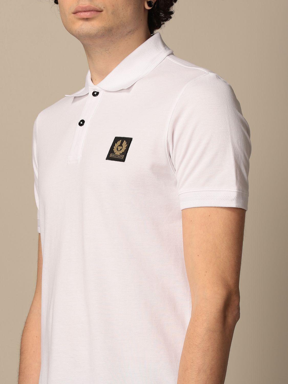 Polo shirt Belstaff: Polo shirt men Belstaff white 3