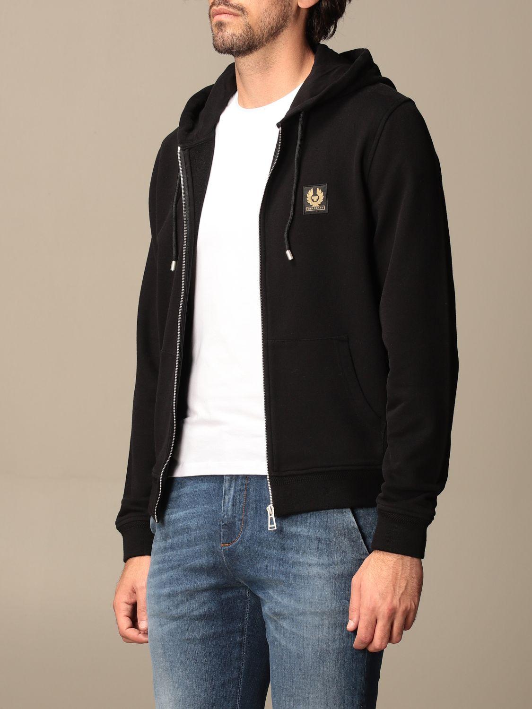 Sweatshirt Belstaff: Sweatshirt men Belstaff black 3