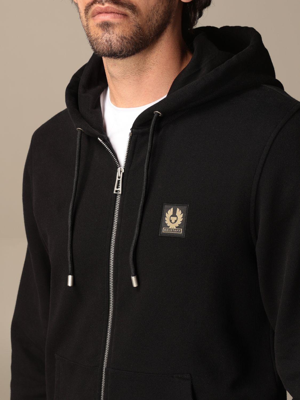 Sweatshirt Belstaff: Sweatshirt men Belstaff black 4