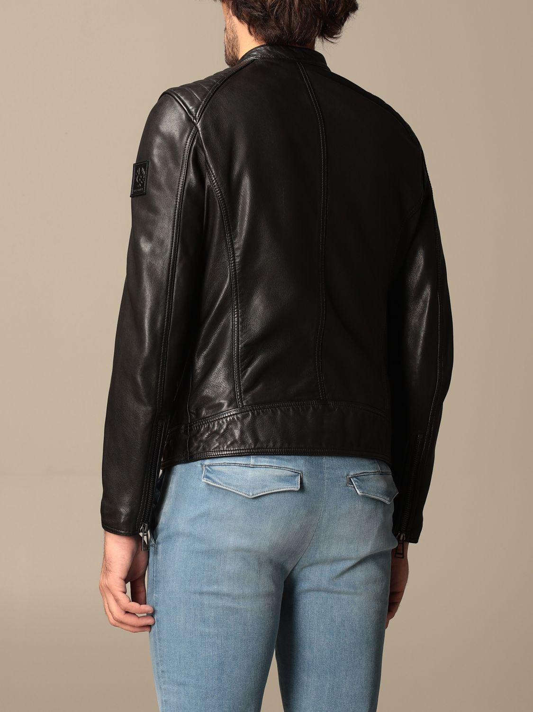 Jacket Belstaff: Belstaff leather jacket with zip black 2