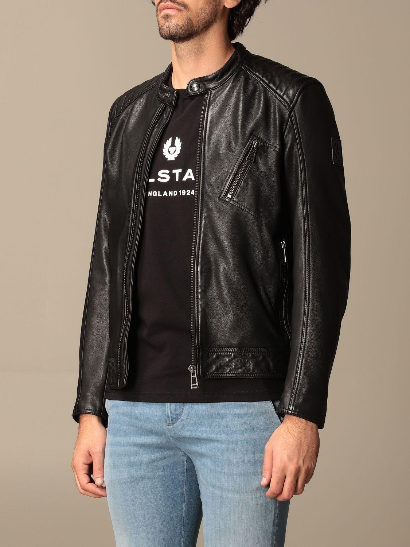 Jacket Belstaff: Belstaff leather jacket with zip black 3