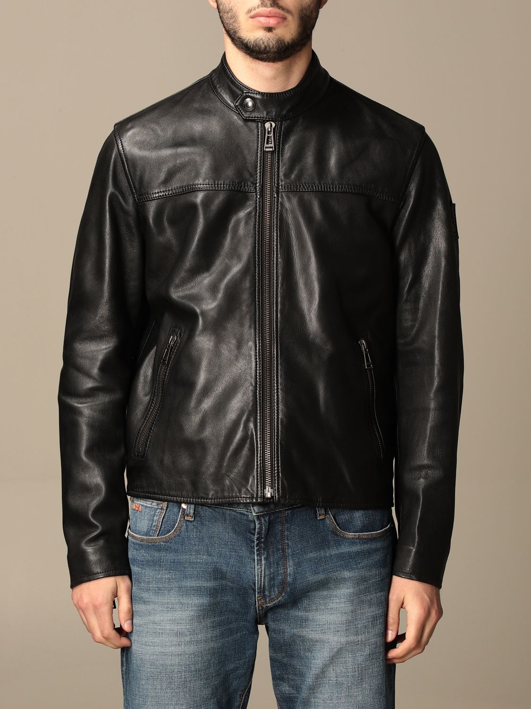 Jacket Belstaff: Jacket men Belstaff black 1