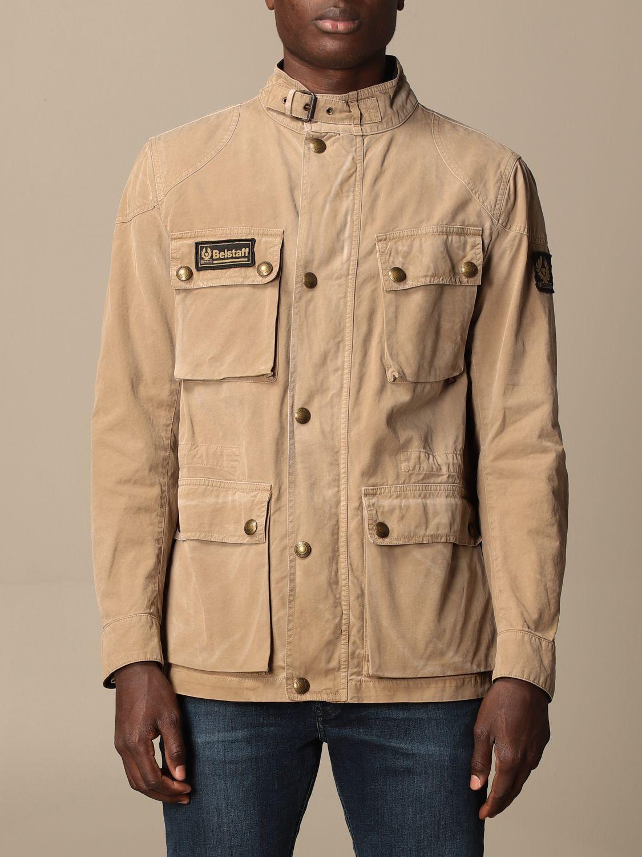 Jacket Belstaff: Jacket men Belstaff beige 1