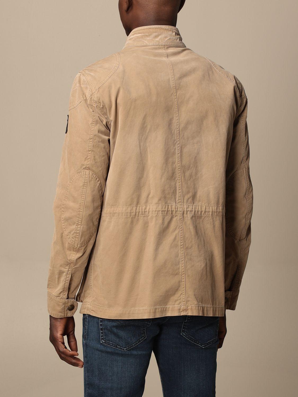 Jacket Belstaff: Jacket men Belstaff beige 2