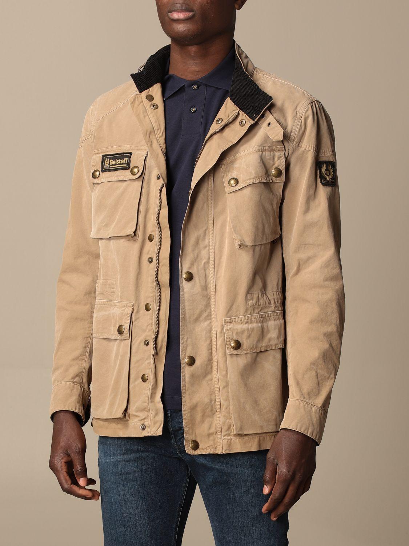Jacket Belstaff: Jacket men Belstaff beige 3