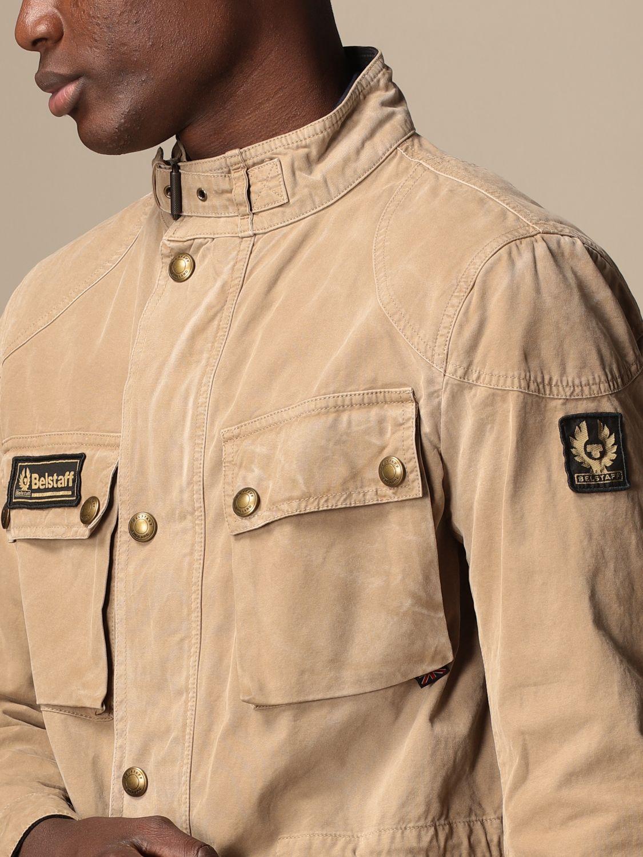 Jacket Belstaff: Jacket men Belstaff beige 4
