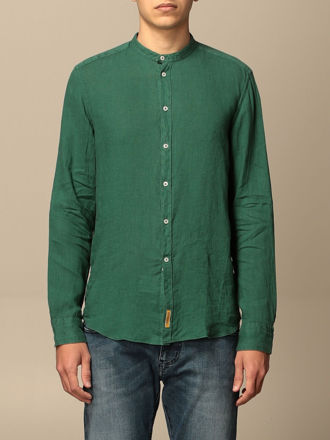 Chemise An American Tradition: Chemise homme Bd Baggies vert sapin 1