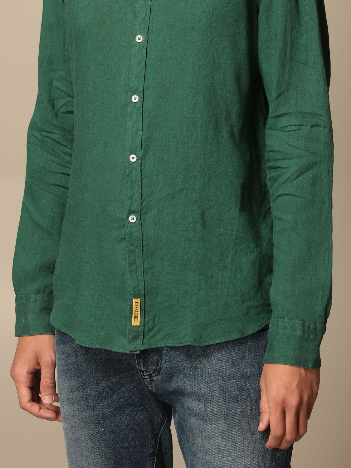 Chemise An American Tradition: Chemise homme Bd Baggies vert sapin 3