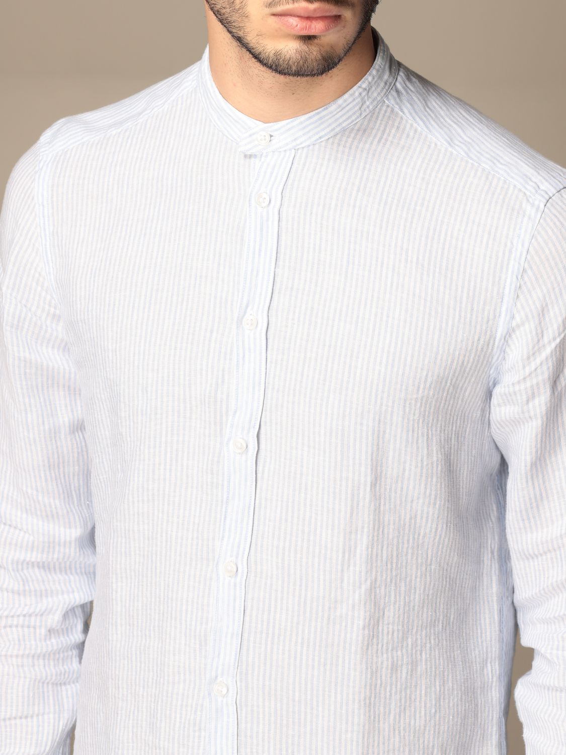 Chemise An American Tradition: Chemise homme Bd Baggies bleu azur 4