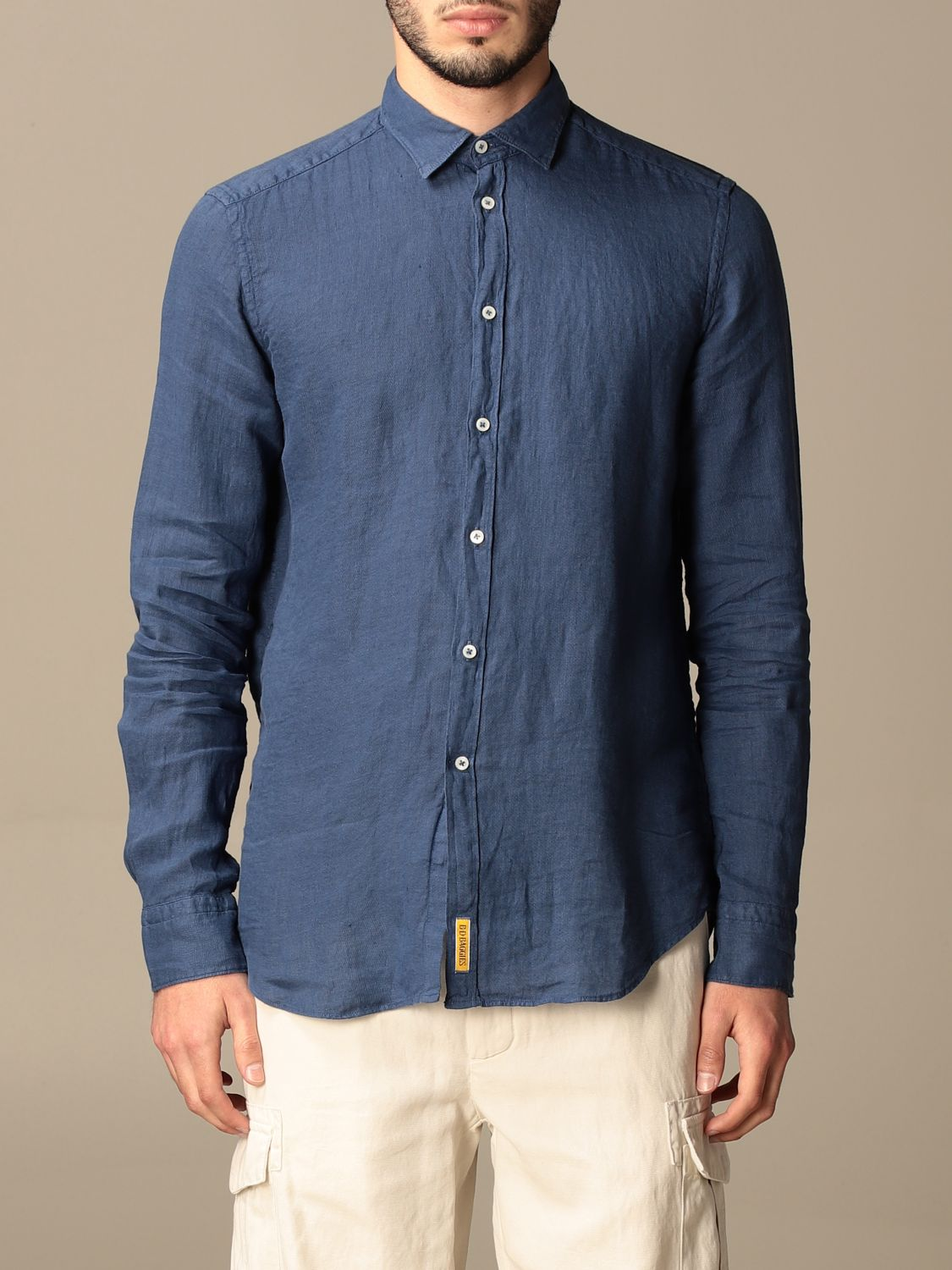 Chemise An American Tradition: Chemise homme Bd Baggies bleu marine 1